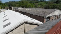Asbestos Roof coatings, specialist roof coating contractors working on commercial and industrial asbestos roofs across the uk, repair and refurbishment
